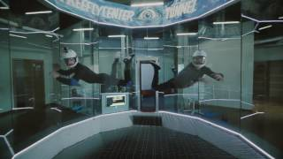 Lot w tunelu aerodynamicznym dla dwojga – Leszno video