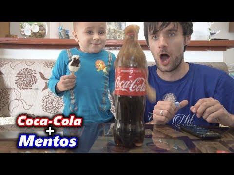 NOVI PRANK S MALIM /Coca-Cola+Mentos