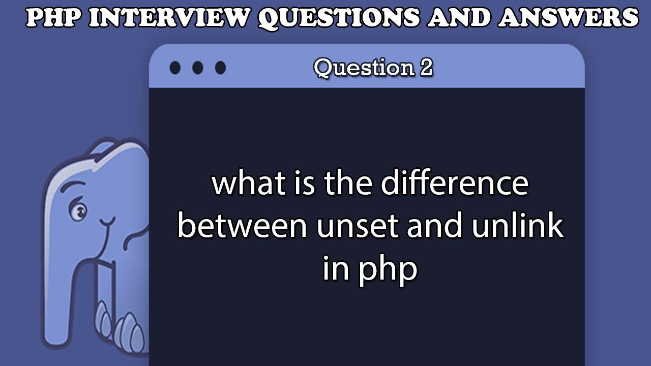 Unlink images in php