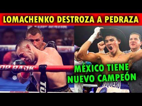 LOMACHENKO DESTRUYE A PEDRAZA, MÉXICO TIENE NUEVO CAMPEÓN MUNDIAL