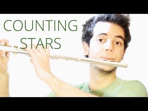 Counting stars - OneRepublic - Amazing 2017 Flute Cover Music [Free Notes Download] Lyrics