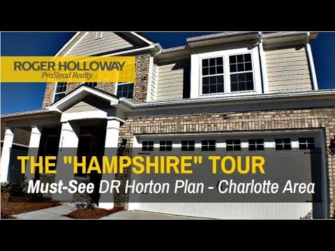 HAMPSHIRE Model Tour - DR Horton Charlotte Communities