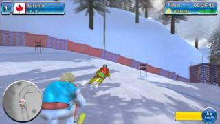 Winter Sports 2012: Feel the Spirit [HD] gameplay
