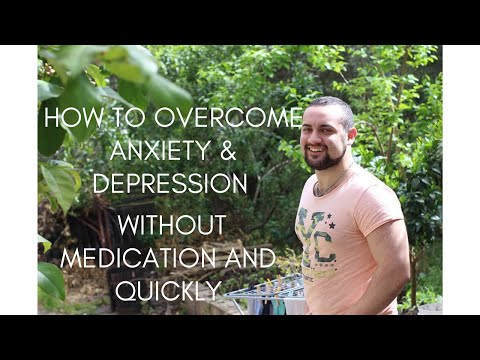 How to Overcome Depression and Anxiety Without Medication and Quickly 💯