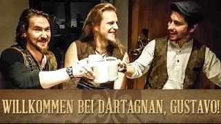 ⚜️🎻⚜️ Willkommen bei dArtagnan, Gustavo!