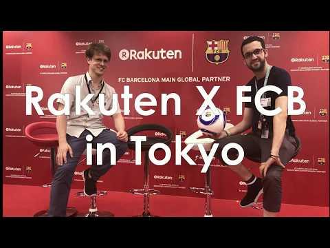 vlog: Rakuten X FC Barcelona (Players visit Rakuten Crimson House Office)