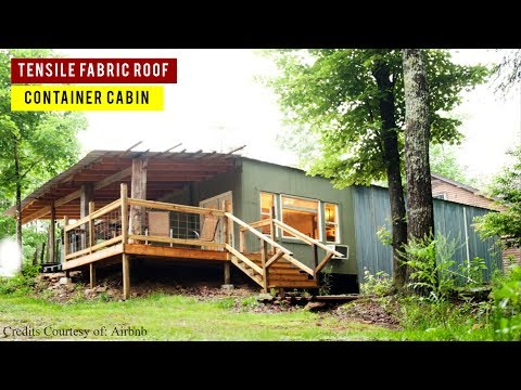 Eco-Friendly Container Cabin  in Tracy City, Tennessee, USA