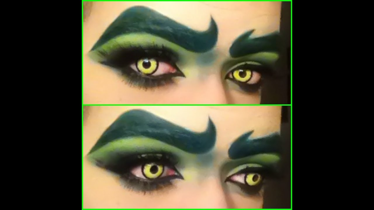 The Grinch Makeup Tutorial You