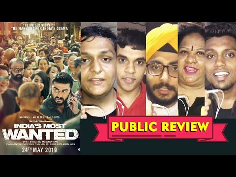 india's-most-wanted-public-review-|-media-show-|-arjun-kapoor