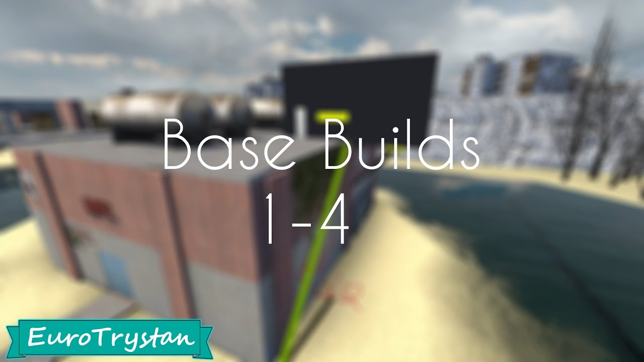 Garry's Mod - Unraidable Bases 1/4 - Free Dupes + Download