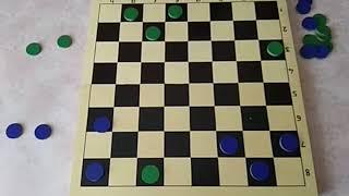 Настольные игры. Урок 38. Комбинационная борьба. Циклические шашки.