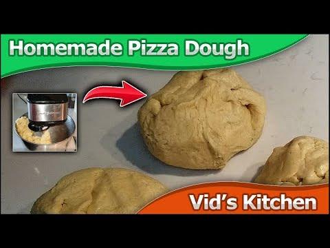 Whole Wheat Pizza Dough (home Made)