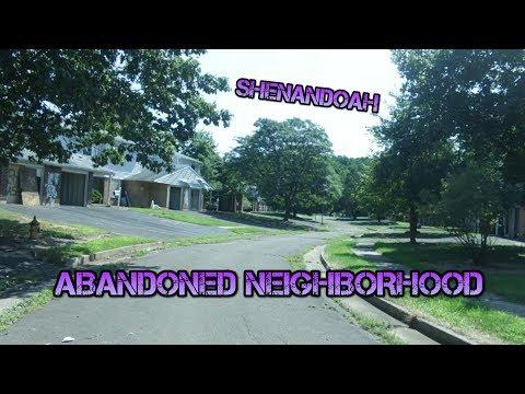 EXPLORING AN ABANDON NEIGHBORHOOD | Shenandoah, Warminster PA