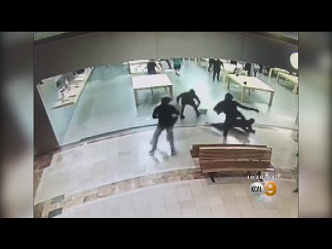 Apple Store Robbed In Costa Mesa