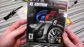 Unboxing Gran Turismo 5 XL Edition [PS3] PT-BR