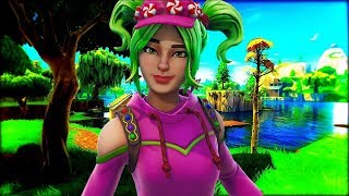 "*NEW* SEASON 4 ""ZOEY"" SKIN GAMEPLAY IN FORTNITE!"