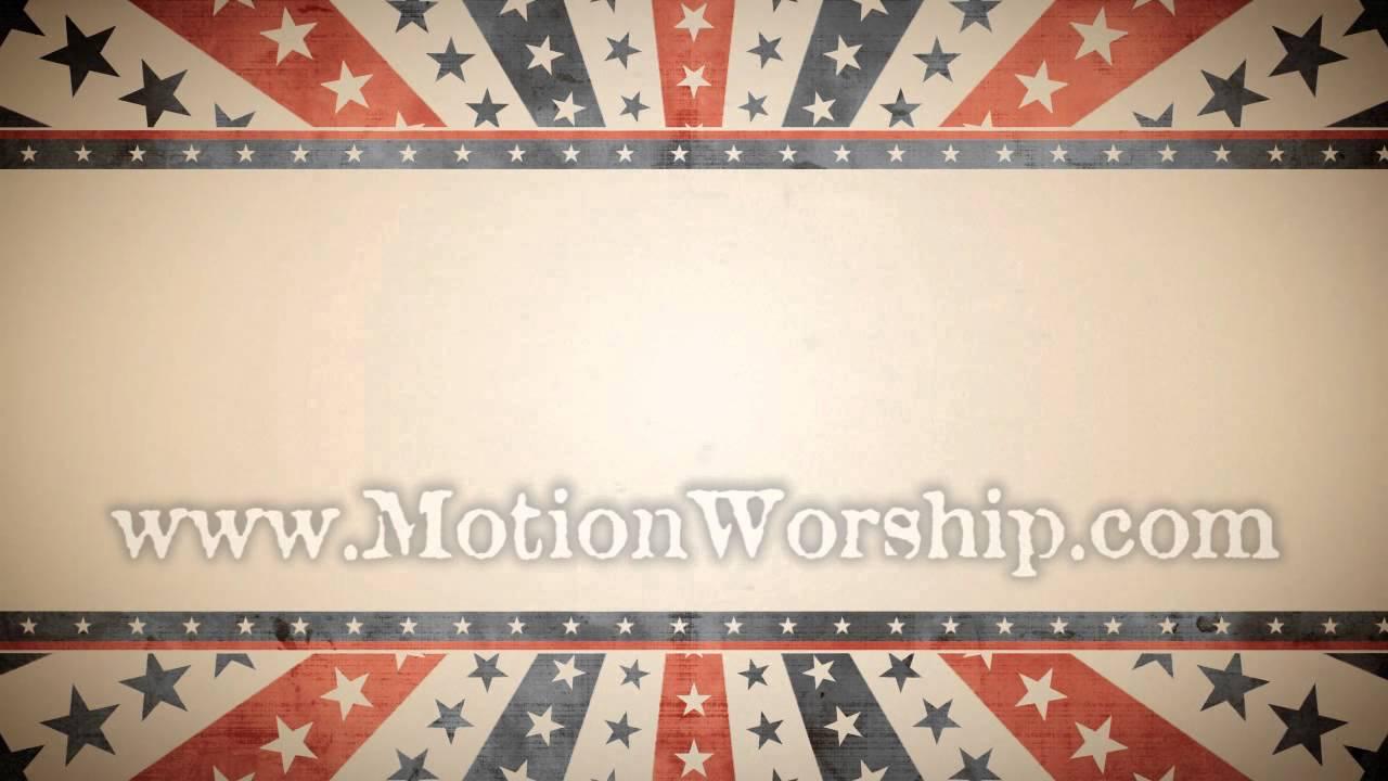 Stars and Stripes Patriotic Background Loop - Vintage USA ...