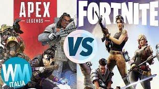 FORTNITE VS. APEX LEGENDS!