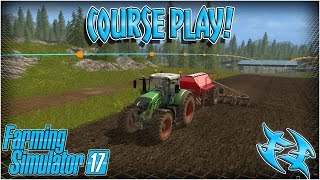 Farming Simulator 17  - Course Play - How to install & review - #xxfastfingersxx