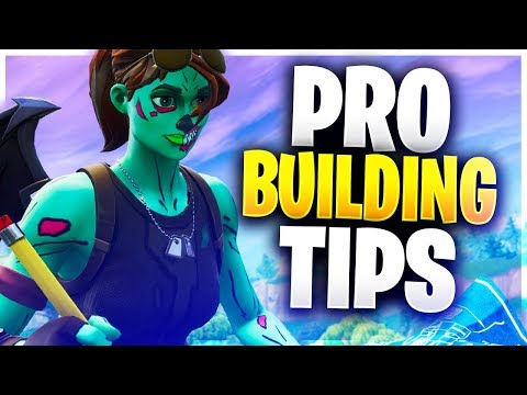 ADVANCED BUILDING TIPS YOU NEED TO KNOW! Pro Building Tips! (Fortnite Battle Royale)