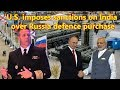 U.S. Admiral warns against sanctioning India over Russia defence purchase