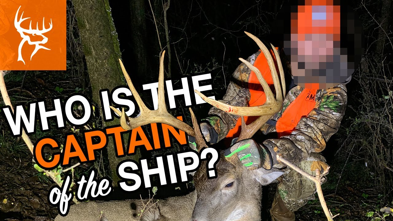 WHO IS THE CAPTAIN OF THE SHIP?   Buck Commander