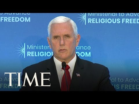 Vice President Mike Pence Sanctions If Turkey Doesn't Release Detained American Pastor | TIME
