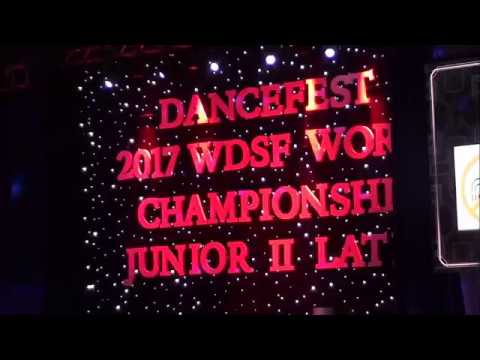 2017 WDSF World Championship Junior II Latin
