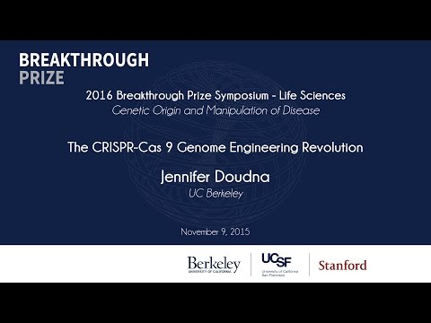 Jennifer Doudna. The CRISPR-Cas 9 Genome Engineering Revolution