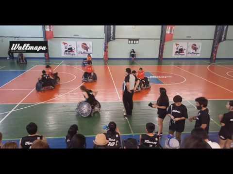 Wallmapu vs Sparta – Campeonato Quads Rugby Temuco 2017