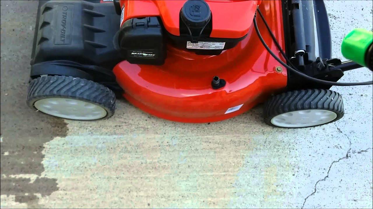 Mower Deck Washers : Troy bilt lawn mower tb deck wash youtube video