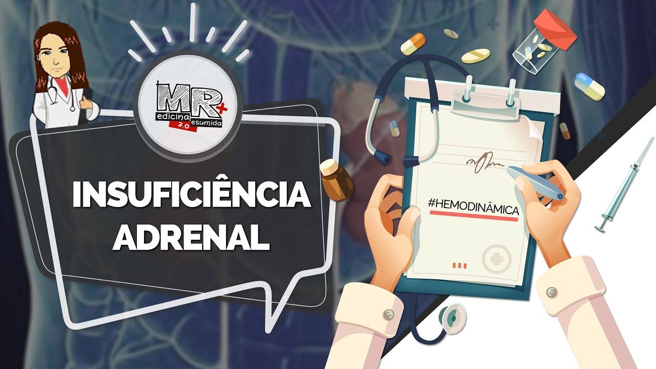 Insuficiência Adrenal - Mini curso de Emergências endócrinas - Aula MR