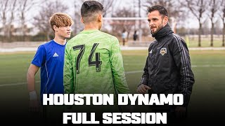 FULL SESSION | Transitional Moments (Attack to Defending) – Houston Dynamo | Pro Gk