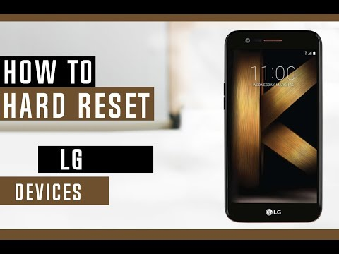 How to Hard LG Phones - Erase Everything