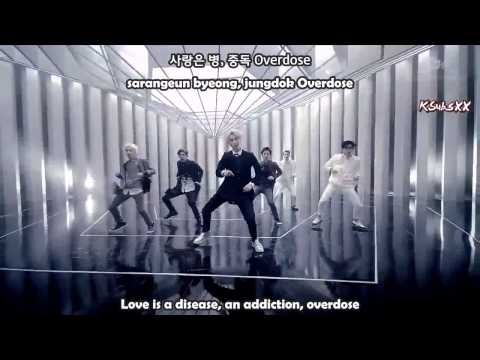 EXO-K - Overdose (중독) [Color Coded Eng + Rom + Han Subs]