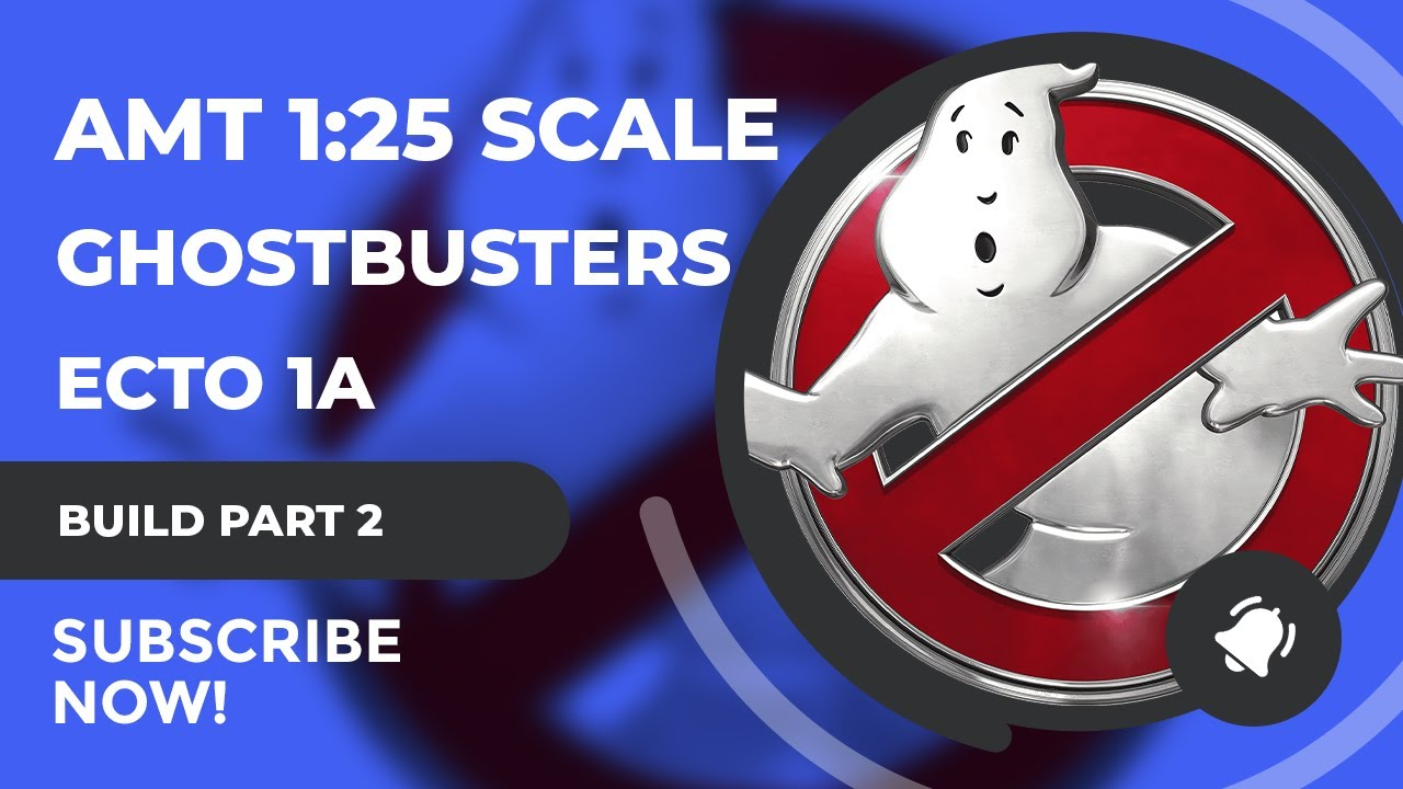 AMT Ghostbusters 2 Ecto 1A 1/25 Scale Model Build Part 2 - Roof Rack Photo Etch & Lighting