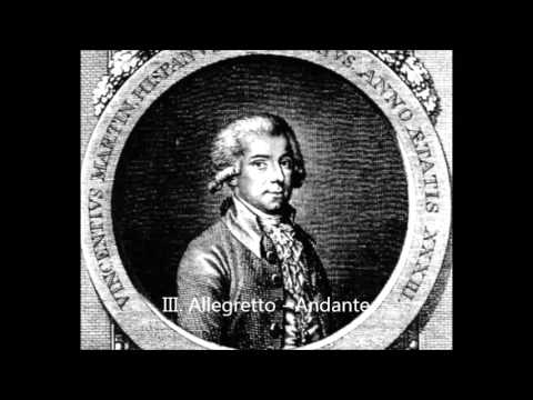 Vicente Martín y Soler - Divertimento No. 4 in B-flat major