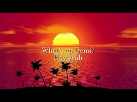 Luis Fonsi, Demi Lovato - Échame La Culpa (English Lyrics / Lyric Video)