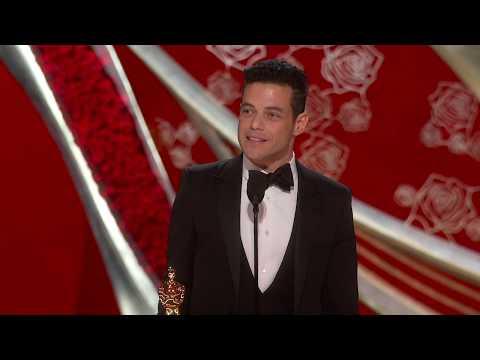 Rami Malek Wins Best Actor