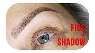 Micropigmentação de sobrancelhas fios hiper realistas e shadow TENDÊNCIA 2019
