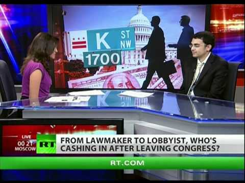 Is ex-Congressmen turning lobbyists a form of tyranny?