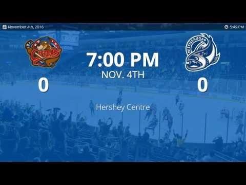 Erie Otters vs, Mississauga Steelheads (11/4/2016)