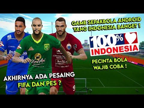 RESMI RILIS ! Game Sepakbola Android Buatan INDONESIA ! Pesaing FIFA Dan PES ?
