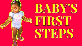 ???????? BABY'S FIRST STEPS ????????