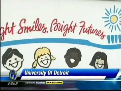 Udm Campus Map.Udm School Of Dentistry Gives Kids A Smile Youtube