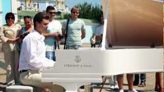 Gambar cover people were shocked: the street musician in Kiev