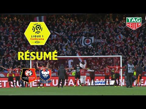 Stade Rennais FC - SM Caen ( 3-1 ) - Résumé - (SRFC - SMC) / 2018-19