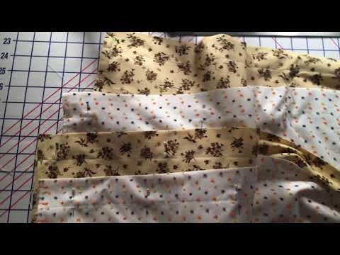 How to sew window Valances 26/34