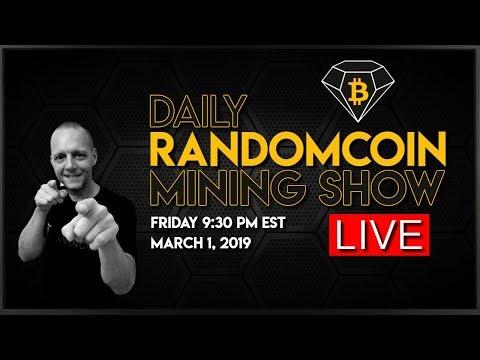 RandomCoin Mining Show LIVE! ⛏ - Bitcoin Diamond (BCD) - X13-BCD