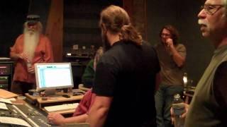 A candid studio moment